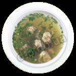 Суп с куриными фрикадельками 1