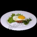 Биток с яйцом