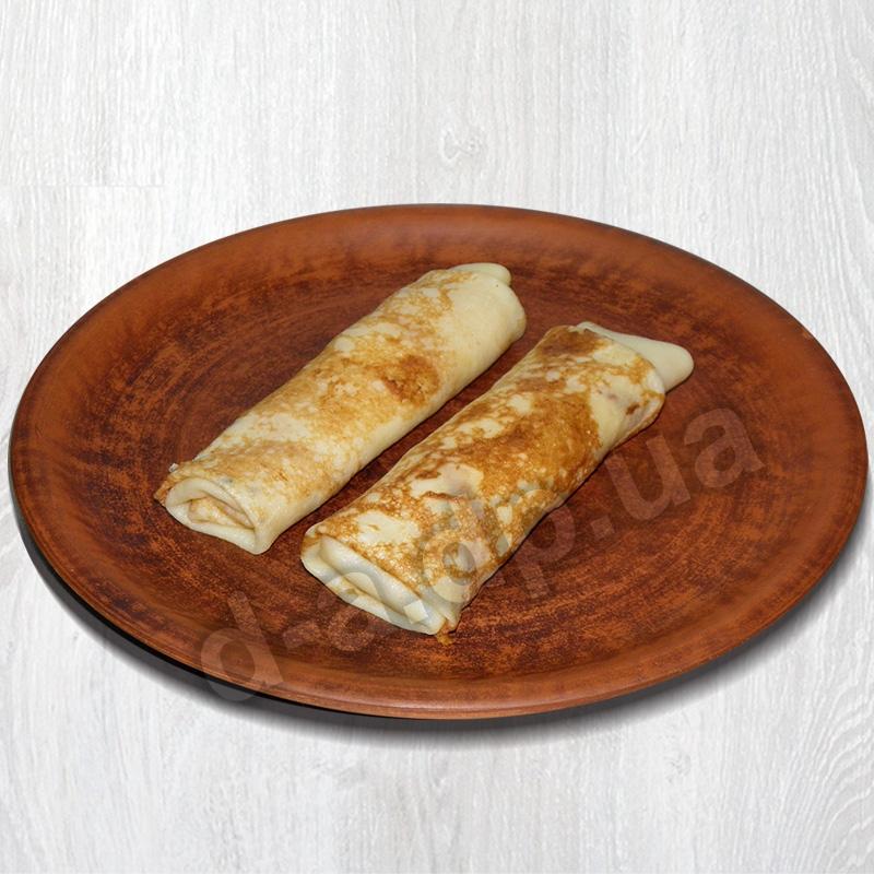 Блинчики с сыром, яйцом и зеленью