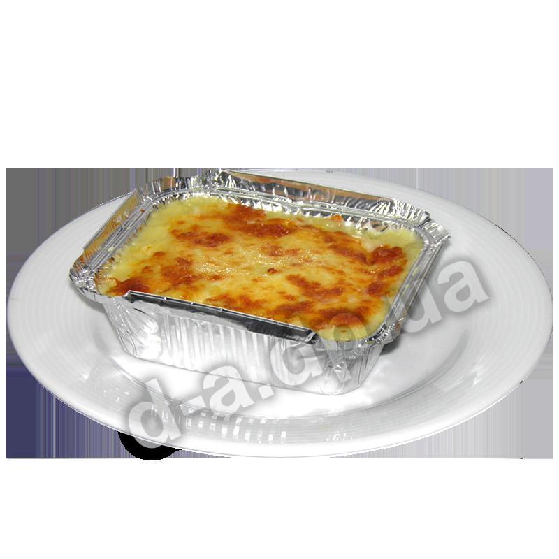 Курино-картофельный гратен под сыром Моцарелла